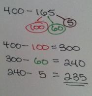400 - 165 number bond