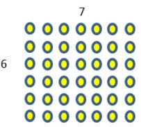 6 x 7 array